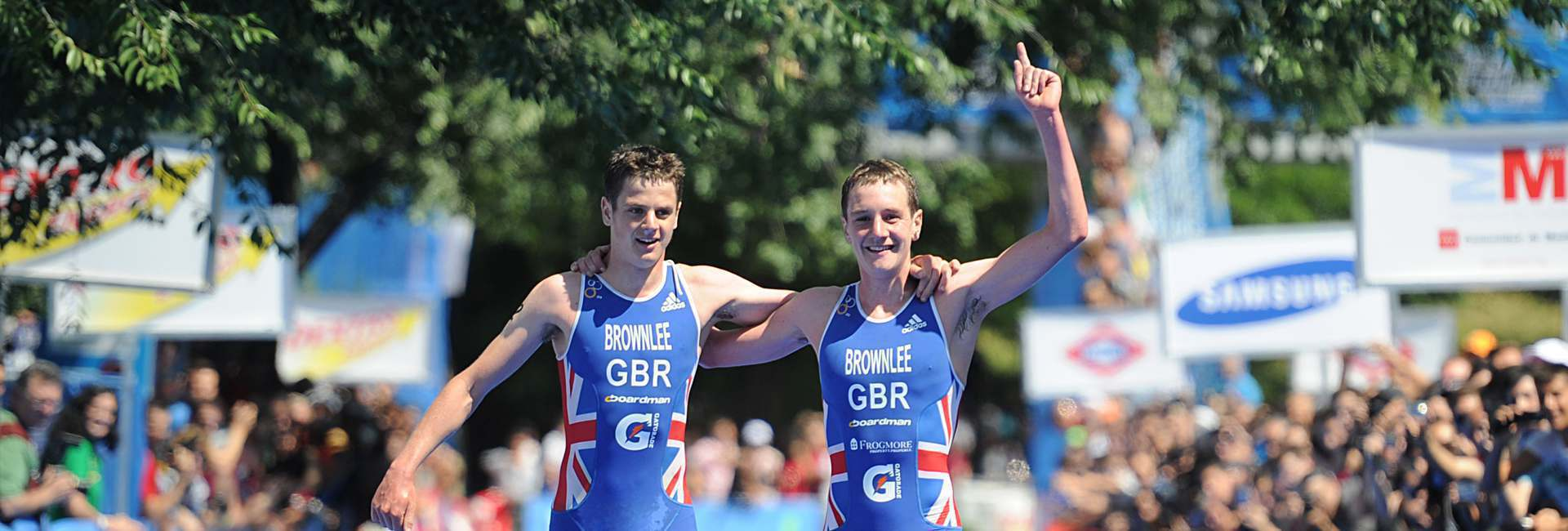 Team GB Completing a marathon as a team