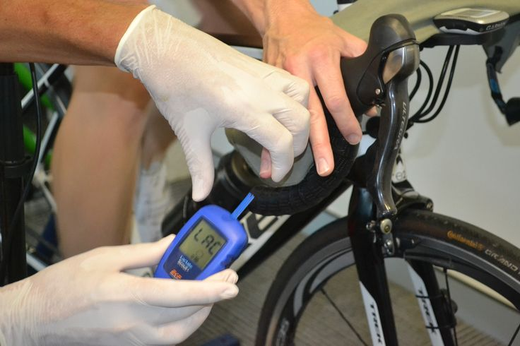 Advance Lactate Test for Cyclist